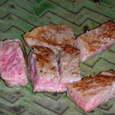メインの和牛ステーキ