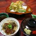 天ぷら と ごはん