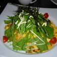 焼き鳥と香味野菜の和風オムライス